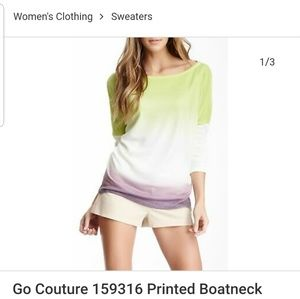 Go Couture Vintage Edition Sweater